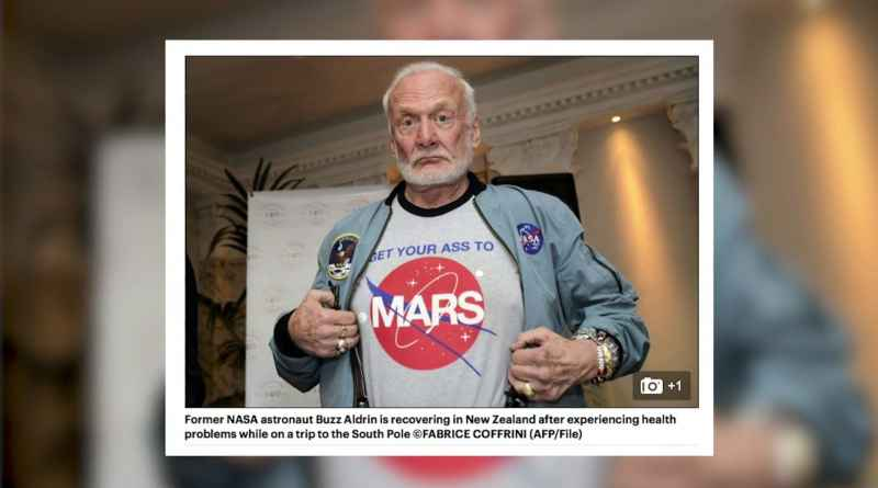 2 Buzz Aldrin With T Shirt